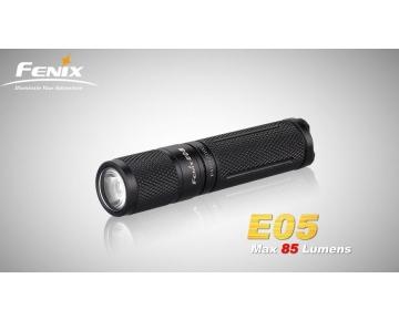 Svítilna Fenix E05 XP-E2 černá