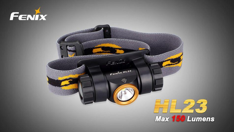 Čelovka Fenix HL23 - oranžovo/černá