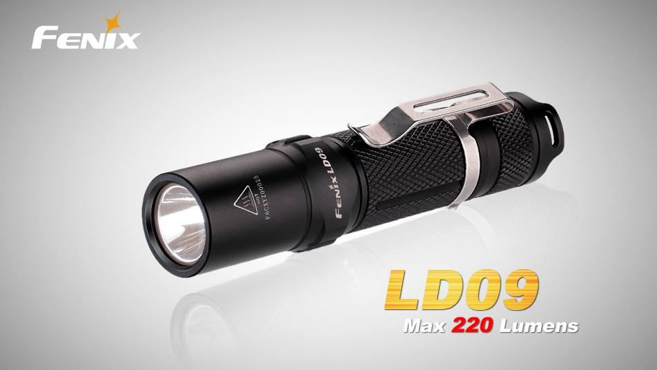 Svítilna Fenix LD09