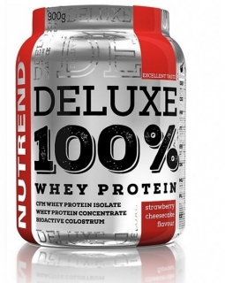 Nutrend DELUXE 100% Whey Protein 2250 g jahoda