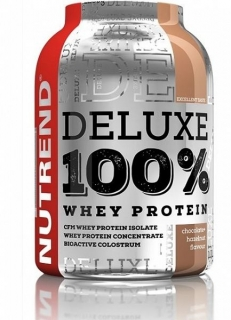 Nutrend DELUXE 100% Whey Protein 2250 g čoko+ořech