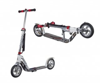 HUDORA Big Wheel Air 205 bílo-stříbrná