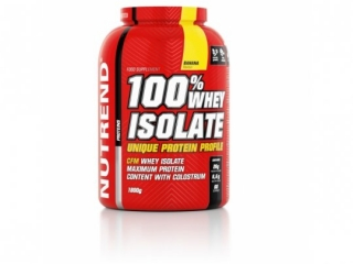 NUTREND 100% WHEY ISOLATE 1800G BANÁN