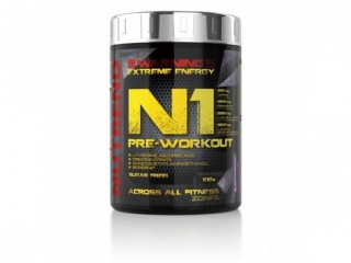 NUTREND N1 PRE-WORKOUT 510G GREP